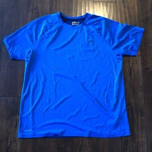Russell dri-power 360 training fit blue shirt XL